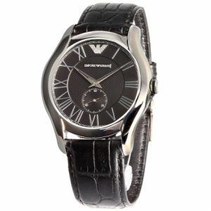 Emporio Armani AR1703 - Montre pour homme avec bracelet en cuir