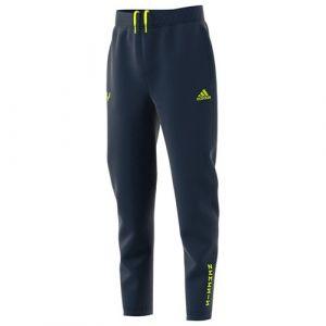 Adidas Bas de Survêtement Messi Strike - Bleu Marine/Jaune Enfant - Bleu - Taille 164 cm