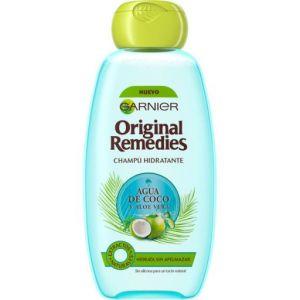 Garnier Original Remedies champú hidratante agua de coco y aloe vera
