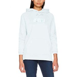 Levi's Graphic Sport Hoodie Sweat-Shirt À Capuche, - Bleu (Goodie Box Tab Baby Blue 0165) - X-Small (Taille Fabricant: XS)