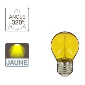 Xanlite Ampoule LED P45, culot E27, 2W cons. (N.C eq.), lumière Lumière jaune