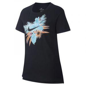 Nike Tee-shirt Sportswear pour Fille plus âgée - Noir - Taille S Female