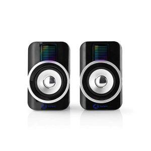 Nedis Gaming Xyagos - 2.0 Speaker Set (30W) - RGB