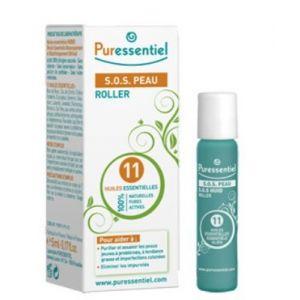 Puressentiel Roller S.O.S peau aux 11 huiles essentielles