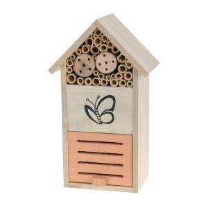 Hôtel à insectes bois 32,5 cm