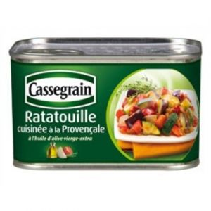 Cassegrain Ratatouille cuisinée provençale 1/2
