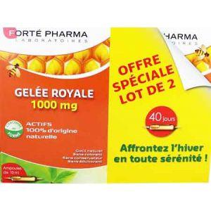 Forté pharma Gelée royale 1000mg