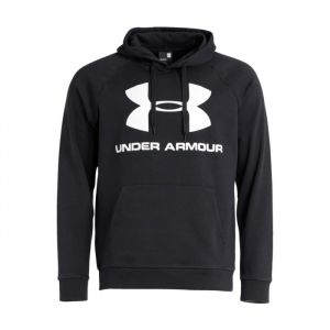 Under Armour Rival Fleece Sportstyle Logo Hoodie - Sweat à capuche taille XL, noir