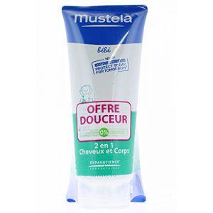 Mustela 2 en 1 gel nettoyant - 2 x 200 ml
