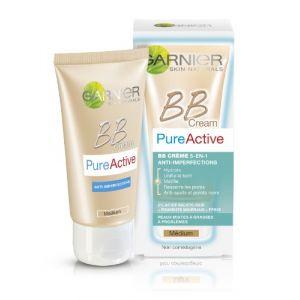 Garnier PureActive BB Crème 5 en 1 anti-imperfections de la peau medium