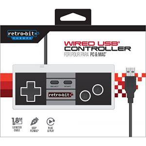 Retro-Bit Manette USB Style Nes