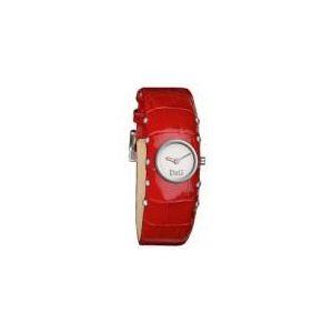 Dolce & Gabbana DW0355 - Montre pour femme avec bracelet en cuir Cottage