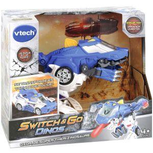 Vtech Switch & Go Dino - Oxor, Super Thérizinosaure voiture de police