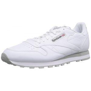 Reebok Classic Leather chaussures blanc gris 42 EU