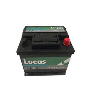 Lucas Batterie de démarrage Loisirs/Camping-cars Marine Starter LB1 LM01 12V 50Ah / 440A