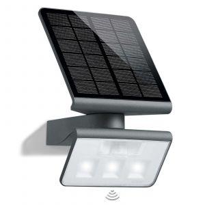 Steinel Projecteur extérieur - solaire - détecteur mouvement - LED Xsolar L-S - anthracite