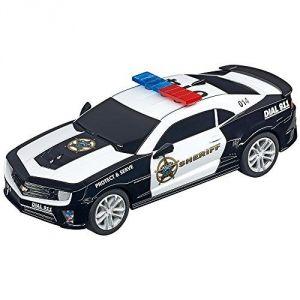 Carrera Toys 64031 - Chevrolet Camaro Sheriff pour circuit Go!!!