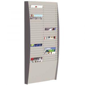Paperflow Trieur vertical - 50 cases - A4 - L54,4 x H112 x P12,9 cm - gris