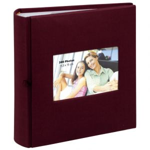 Erica Album photo pochette SQUARE 300 photo bordeaux