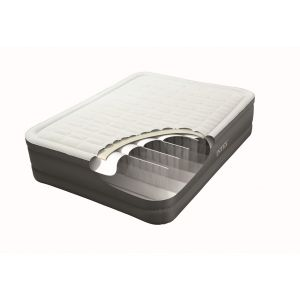 Intex Matelas gonflable Prem'air Fiber Tech 2 places