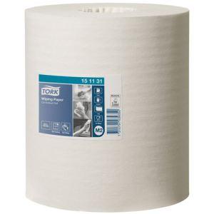 Tork 151131 - Carton de 6 bobines d'essuie-tout à dévidage 1 plis