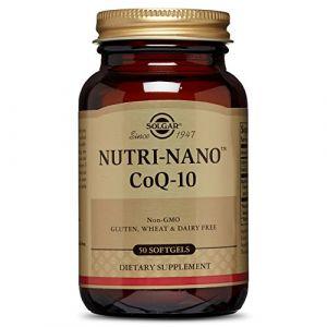 Solgar Nutrinano CoQ-10 50 softgels