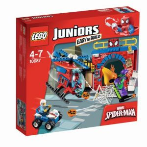 Lego 10687 - Juniors : La cachette de Spiderman