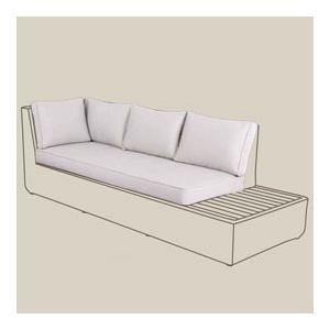 Blooma Housse de remplacement pour sofa d'angle Rocha
