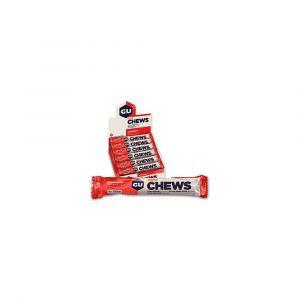 Gu Energy Carbohydrates Gu Chews Strawberry Box x18