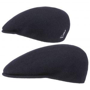 Kangol Bonnet Wool 504 - Mixte - Bleu (Dark Blue) - Medium