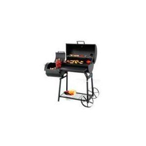 Outdoor Barbecue Xl Familial Tonneau Américain avec fumoir