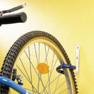 Mottez Crochet porte-vélo gainé B012G
