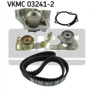 SKF Kit de distribution avec pompe à eau VKMC032412