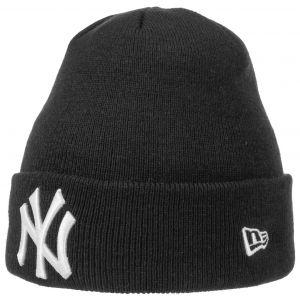 A New Era League Essential Cuff Ny Yankees bonnet noir