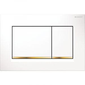 Geberit Sigma 30 blanc/doré (115.883.KK.1)