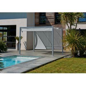 DCB Garden Pergola brise-soleil 3 x 3 m
