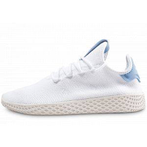 Adidas X Pharrell Williams Tennis HU J Ftw White/ Ftw White/ Ash Blue