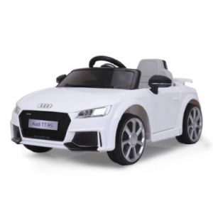 Jamara Véhicule enfant Ride-on Audi TT RS blanc 12 V