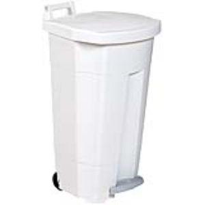 Rossignol (collecte déchets & hygiène) 56700 - Poubelle à pédale Boogy en plastique (90 L)