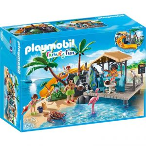 Playmobil 6979 Family Fun - île avec Vacanciers