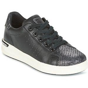 Geox J Aveup A, Sneakers Basses Fille, Noir (Black), 35 EU