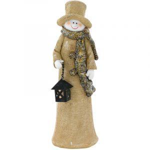 Eglo Figurine bonhomme de neige pour votre décoration de Noël et d'hiver