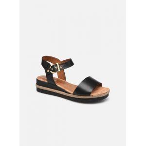 Tamaris Femme Sandales, Dame Sandale à lanières,Sandale,Chaussure d'été,Sandale d'été,Confortable,Plate,Black,36 EU / 3.5 UK