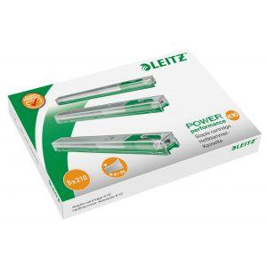Leitz K10 boite de 5 recharges de 210 agrafes 26/10 Vert