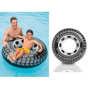 Intex Bouée pneu à poignées (114 cm)