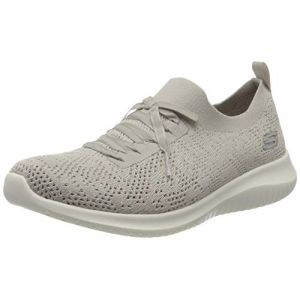 Skechers Chaussures sport gris avec semelle à mémoire de forme Rose - Taille 37