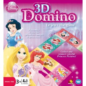 Asmodée Domino 3D Disney Princesses