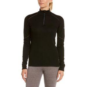Odlo Shirt ML 1/2 zip X-WARM T-shirt manches longues femme Femme black FR: M (Taille Fabricant: M)