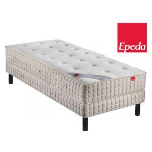 Epeda Ensemble Matelas ORCHIDEE 620 ressorts Confort Medium 90x200