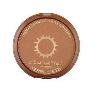 Terre d'été Poudre compacte N°3 Soleil d'or teint bronzé